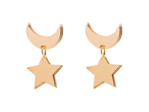 Sailor Moon Earrings (Mirror)
