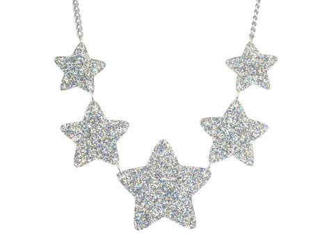 Twinkle Twinkle Little Stars Necklace (silver)