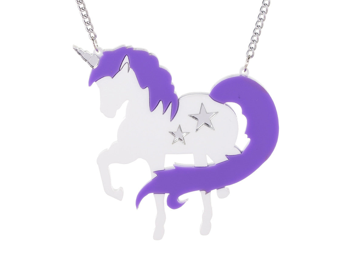 Unicornzzz Lilac Necklace -  - 1