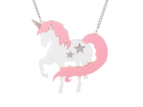 Unicornzzz Pink Necklace