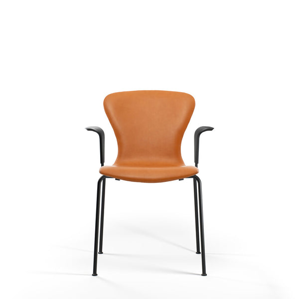 Bruunmunch Furniture - PLAY Arm chair Tube stol cognac læder