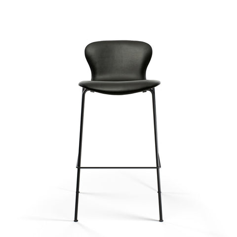 Bruunmunch Furniture - PLAYchair Bar LowBack barstol sort læder