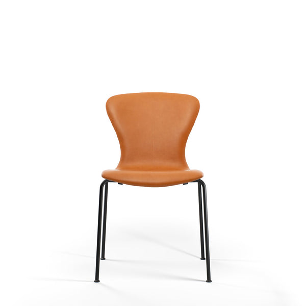 Bruunmunch Furniture - PLAYchair Tube stol cognac læder