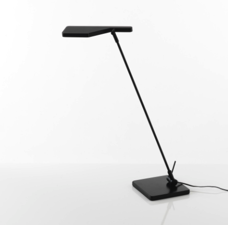 Florens led bordlampe sort
