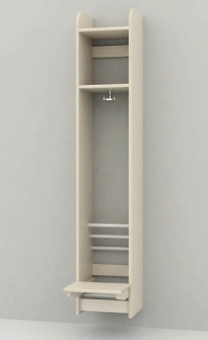 Troldegarderobe 1 sektion
