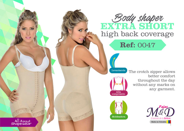 Body shaper extra short high back coverage Ref: 0047