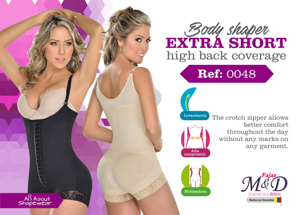 Body shaper extra short high back coverage Ref: 0048