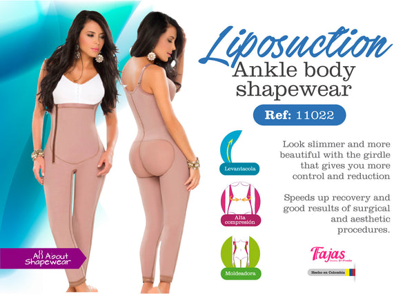 Liposuction ankle body shapewear Ref: 11022