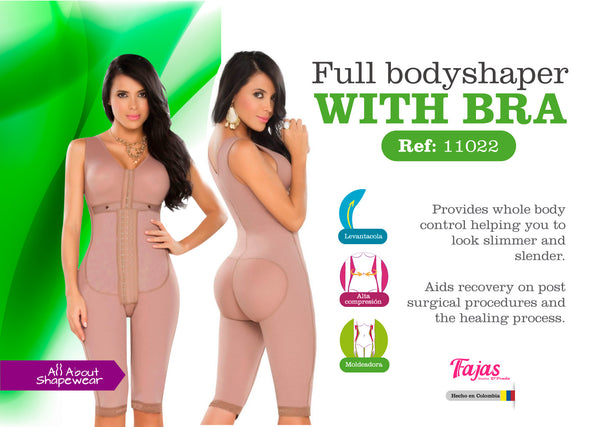 Full body shaper with bra Ref: 11052