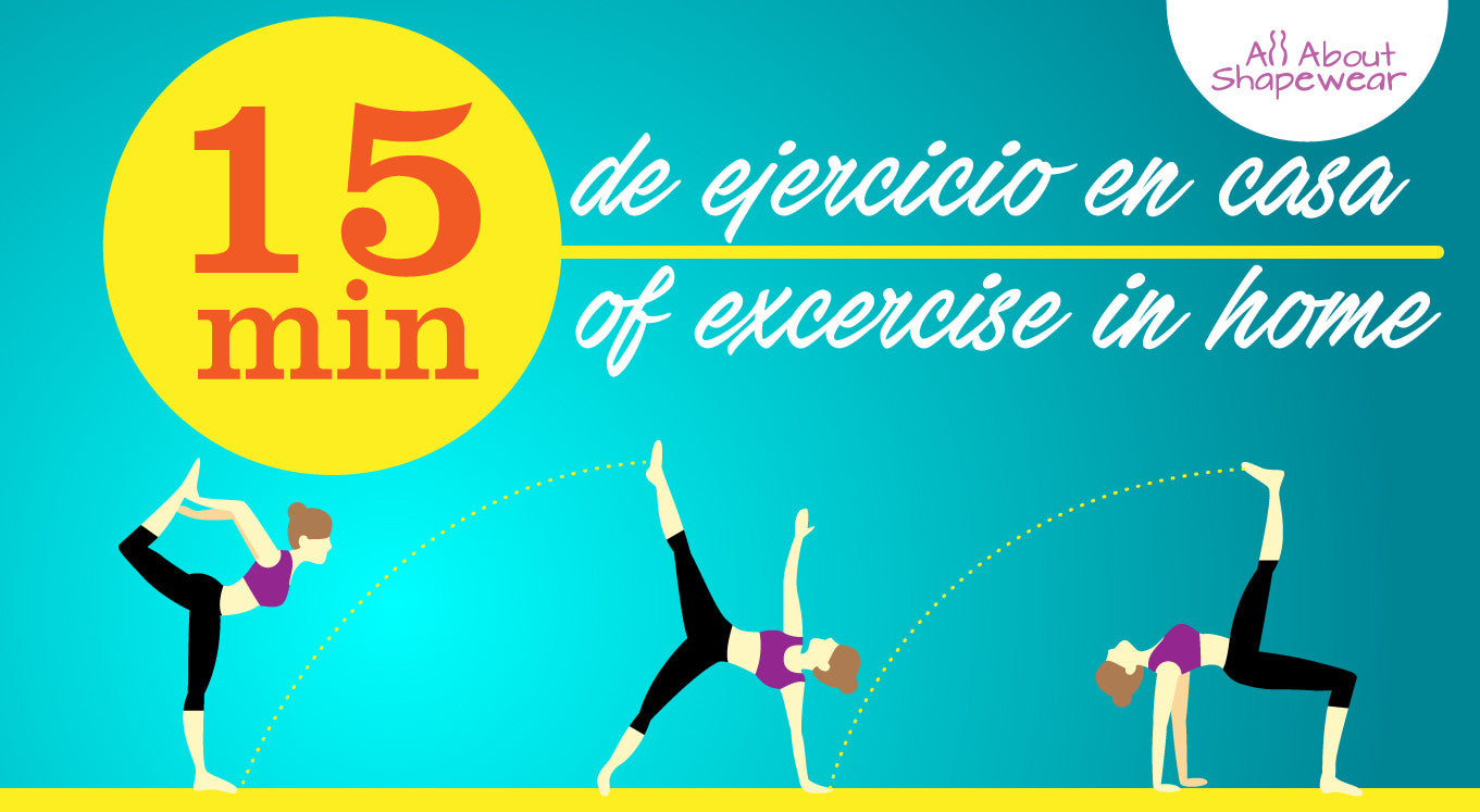 15 minutos de ejercicio en casa / 15 minutes of excercise in home