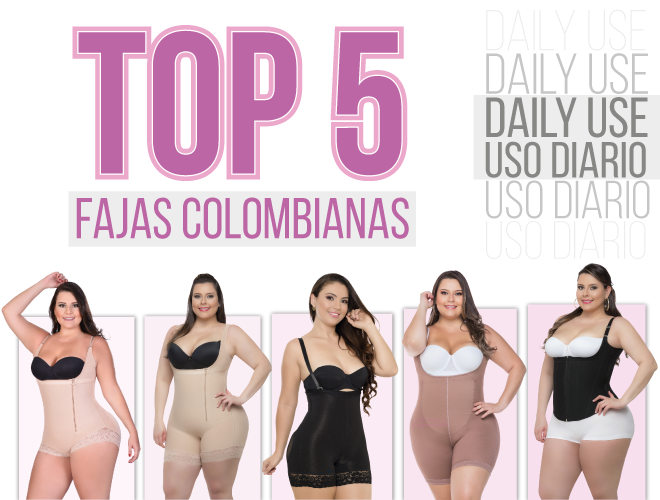 Fajas Colombianas Women/'s Strapless Levanta Cola Seamless Body Tummy Control AS