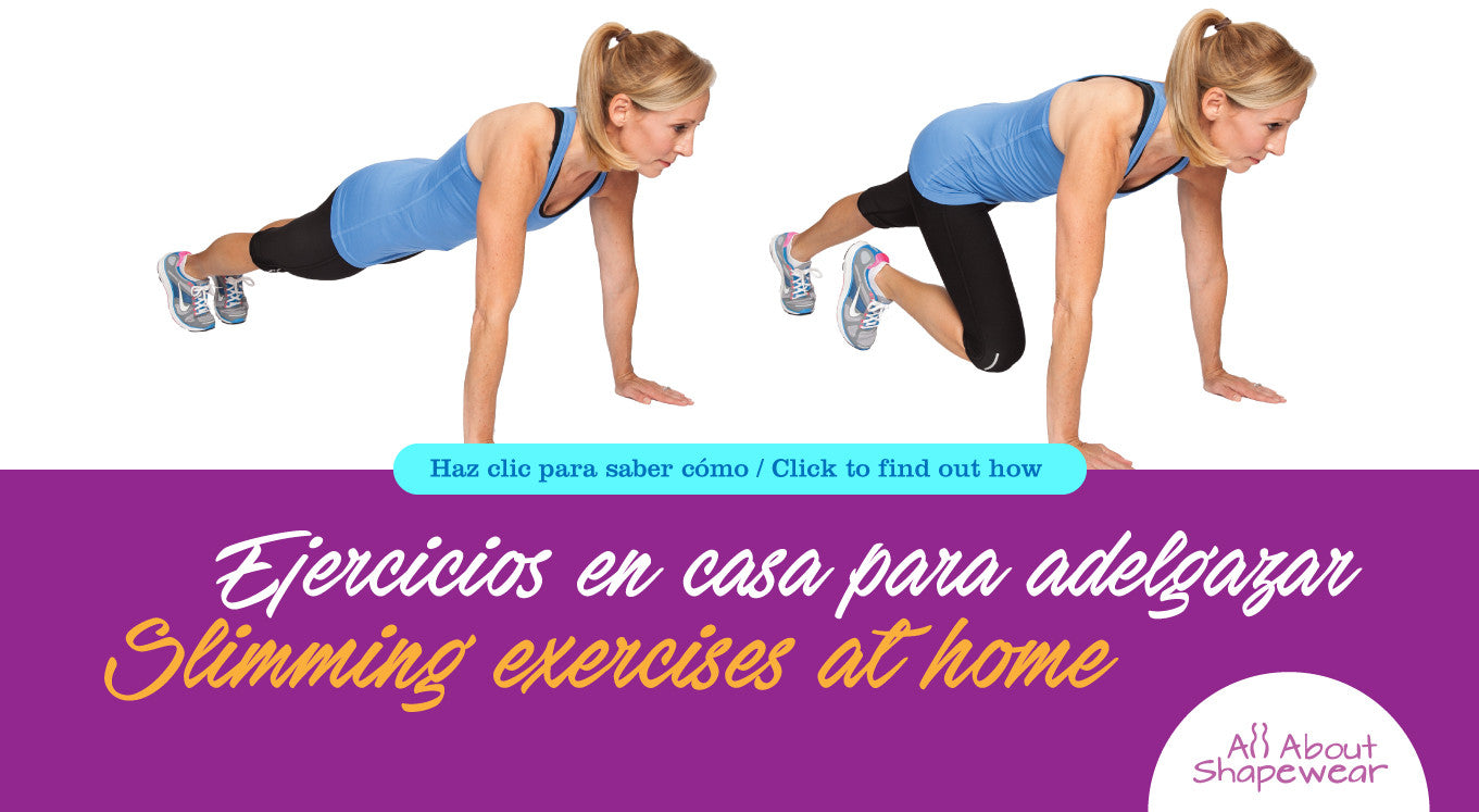Ejercicios en casa para adelgazar / Slimming exercises at home