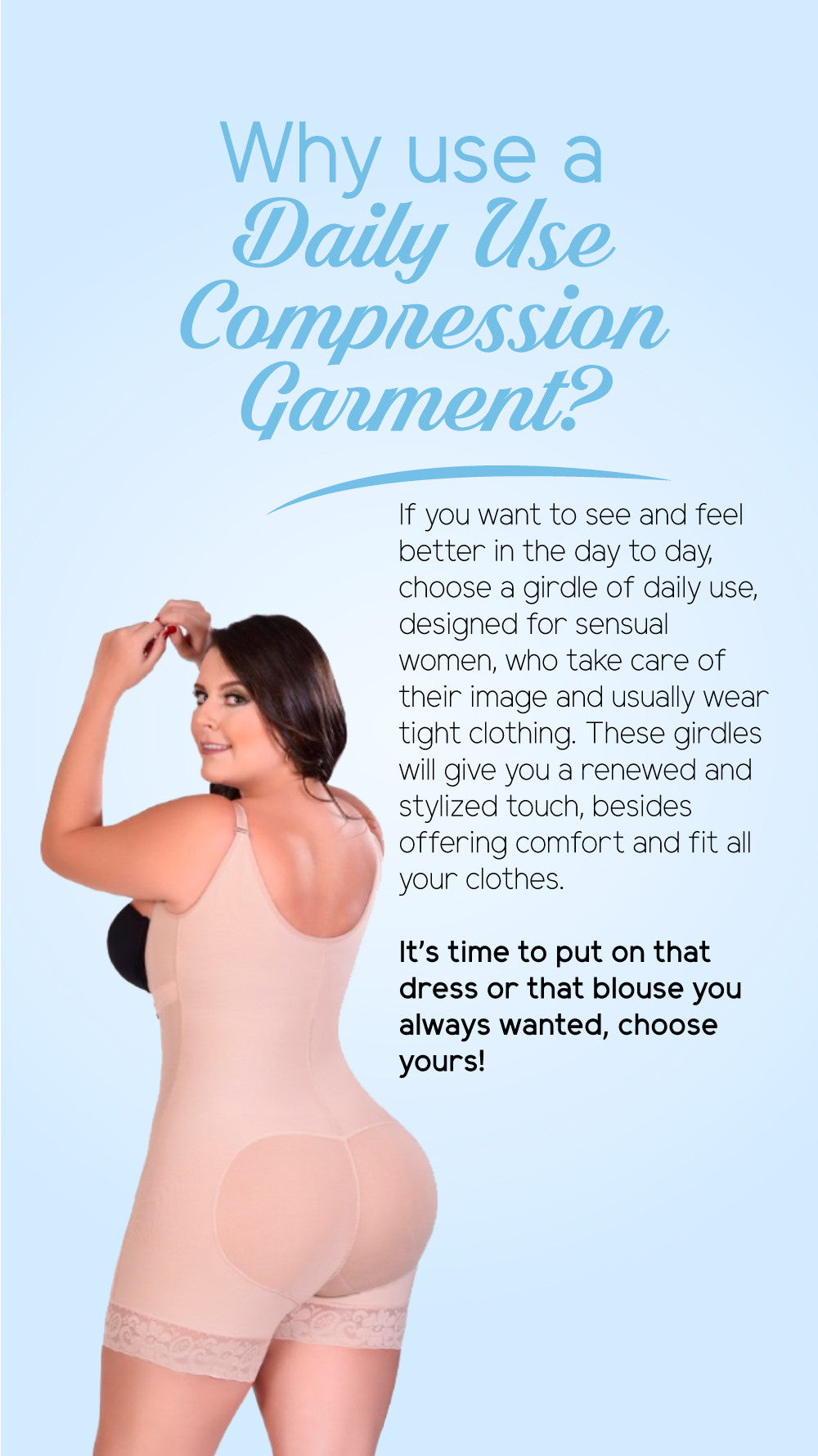 Why use a Daily Use Compression Garment?