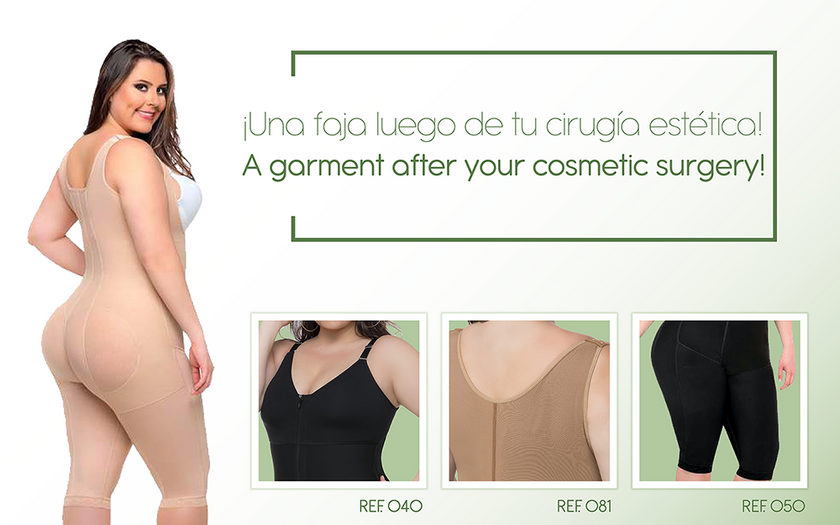 4566785172a5e After your surgery ... The second step is a COLOMBIAN BODY SHAPER ...