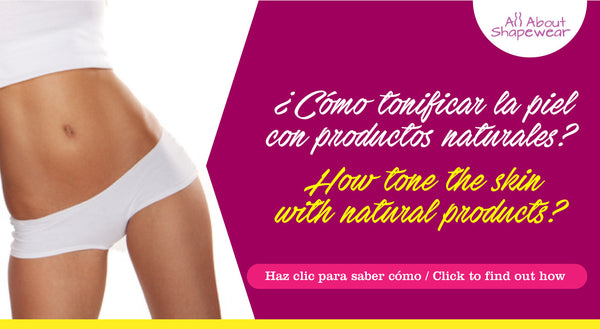 ¿Cómo tonificar la piel con productos naturales? / How tone the skin with natural products?
