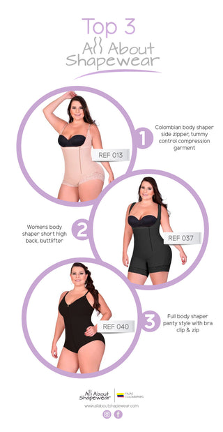 43adc35d60 TOP 3 All About Shapewear Compression Garments - Fajas Colombianas ...