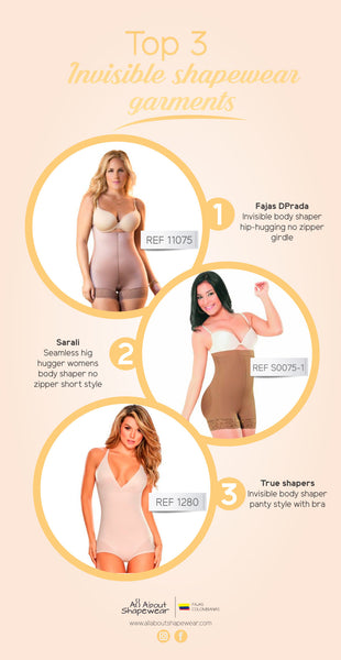 Want something discreet ? See our Top 3 Invisible Seamless Shapewear