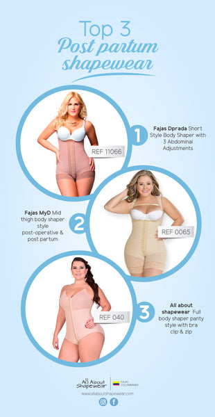 Post Partum Shapewear TOP 3 Compression Garments
