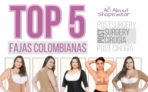 "Fajas Colombianas Top-5 ""Post-surgery"""