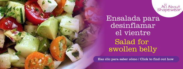 Ensalada para desinflamar el vientre / Salad for swollen belly