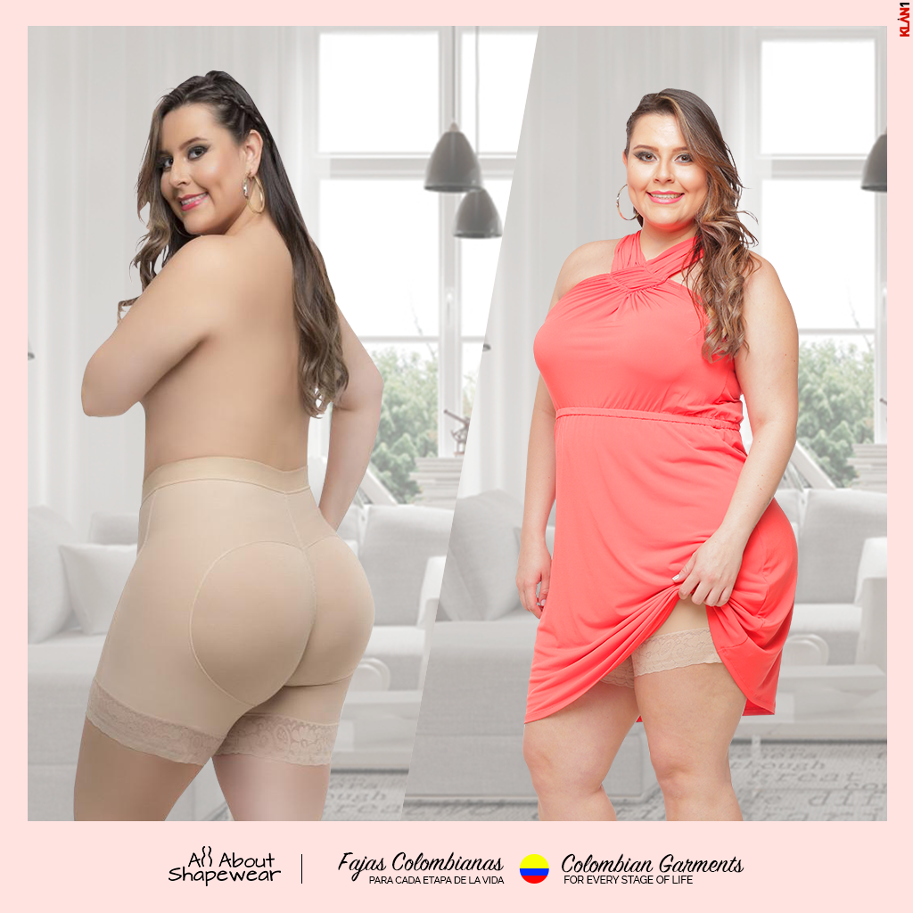 3c32b49c293a4 Plus Size Shapewear - 100% Colombian All About Shapewear - Fajas ...