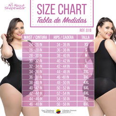 7ce6cb2d1e378 Fajas Colombianas Body Shaper Plus Size Panty Style High Compression ...