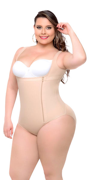 11a5dbd9f ... Fajas Colombianas Body Shaper Plus Size Panty Style High Compression  Ref 019 - Fajas Colombianas Shapewear ...
