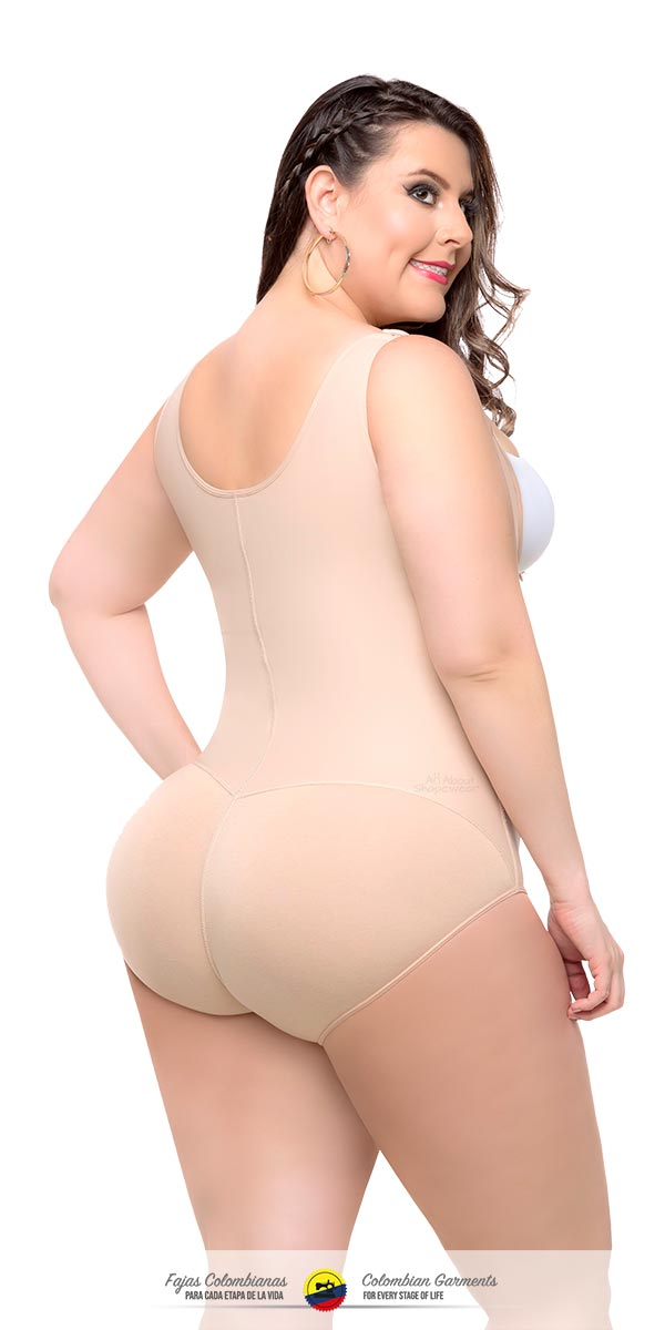 Fajas Colombianas Body Shaper Plus Size Panty Style High Compression Ref 019 - Fajas Colombianas Shapewear
