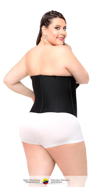 85b081cfc73 ... Fajas Colombianas-Colombian Waist Shaper Clip and Zip High Compression-  Faja Cinturilla Ref 025 ...