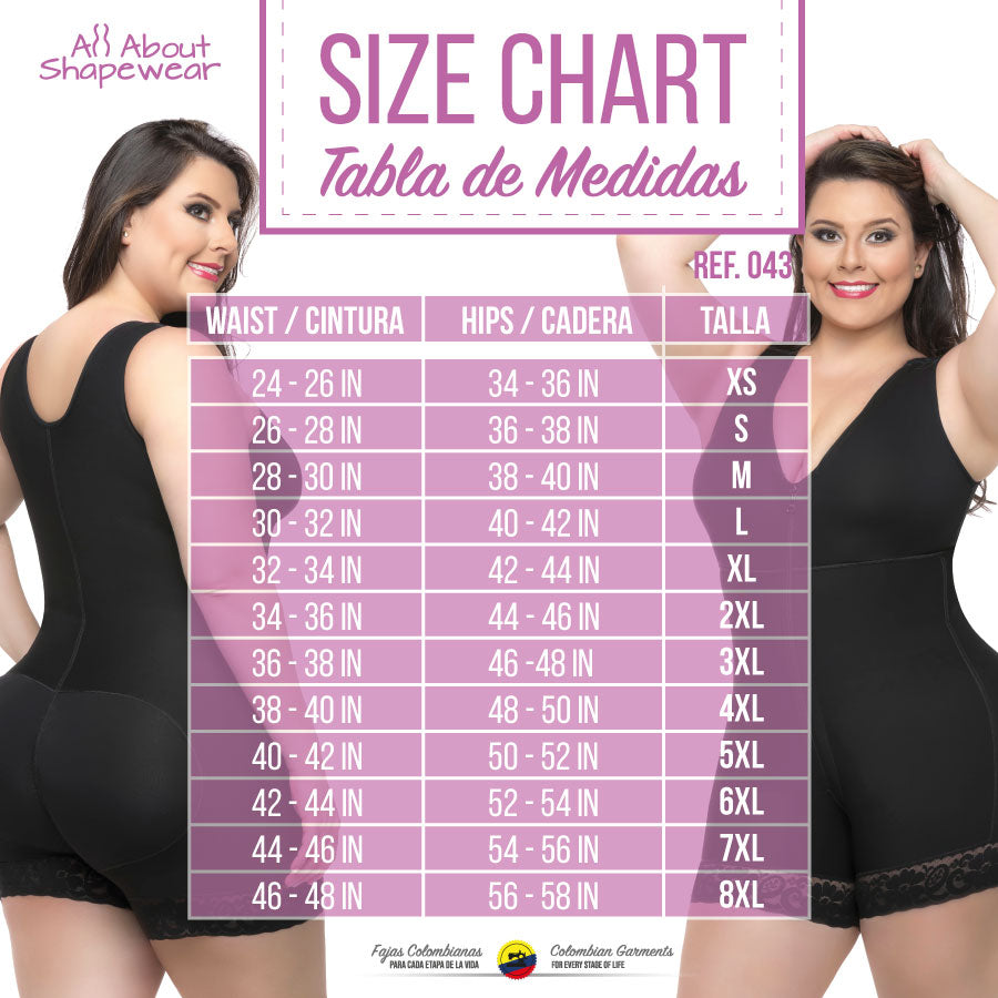 a22a41a902333 Fajas Colombianas Full Body Garment Short Style With Bra   Back Coverage  043 - Fajas Colombianas