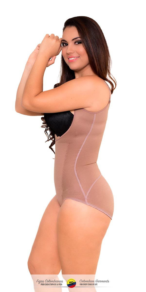 a07939e696 Fajas Colombianas-Invisible Body Shaper with Medium Compression Thermal  Action Ref - 071 - Fajas
