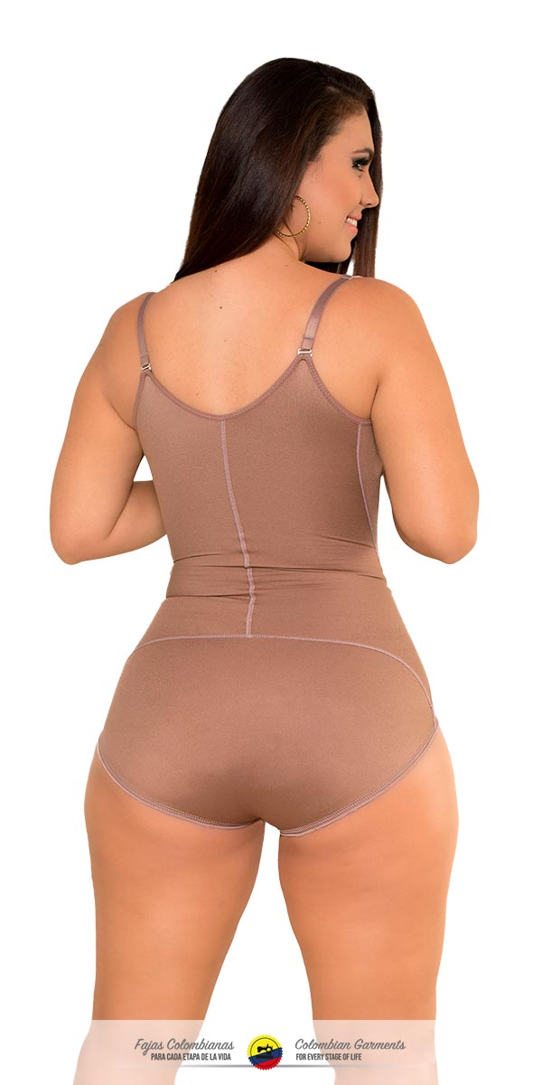 Fajas Colombianas-Invisible Body Shaper with Medium Compression Thermal Action Ref - 071 - Fajas Colombianas Shapewear