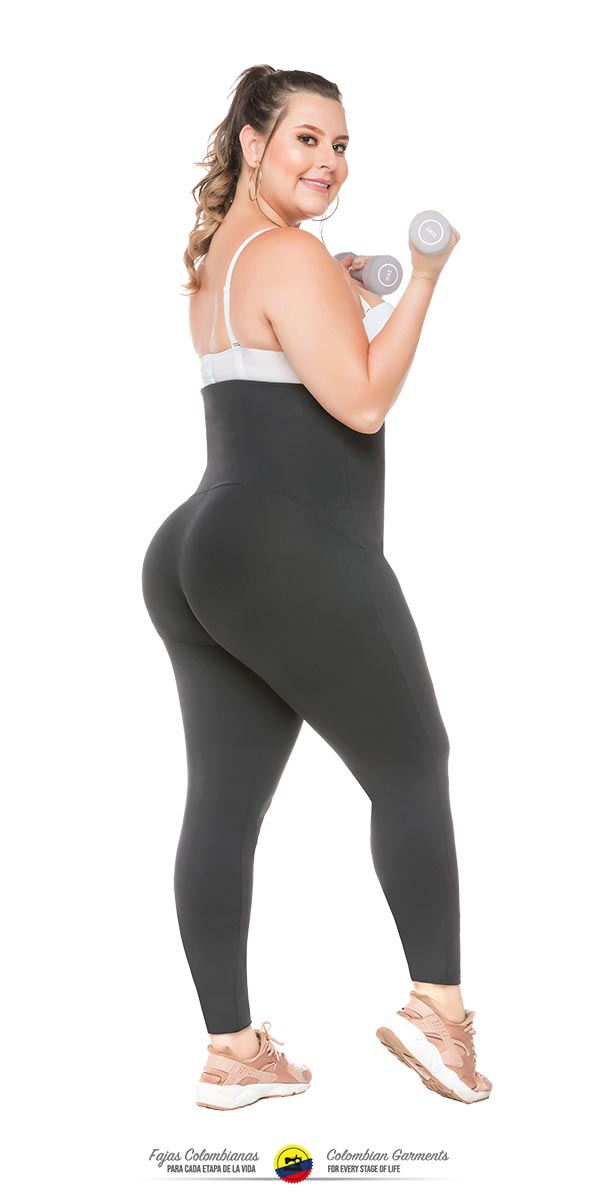 Fajas Colombianas Waist Trainer & Leggings ALL IN-ONE Thermal Action Ref 078 - Fajas Colombianas Shapewear