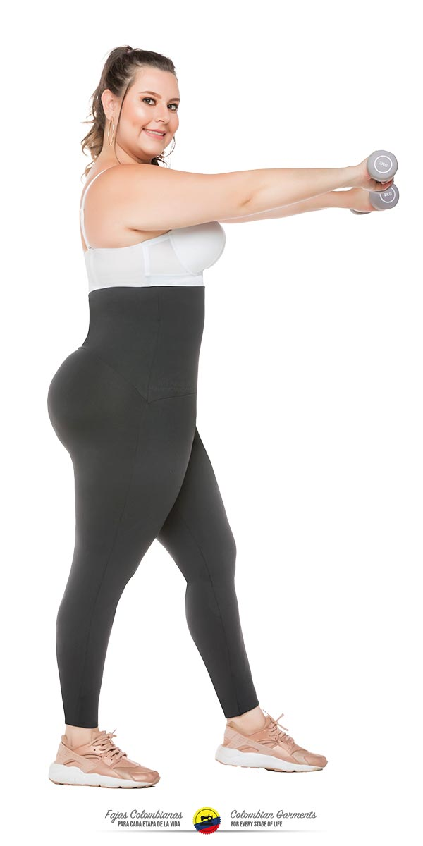 76a6fd946c Fajas Colombianas Waist Trainer   Leggings ALL IN-ONE Thermal Action Ref 078  - Fajas