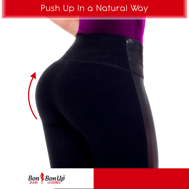 Bon Bon Up Leggins with Internal Butt Lifter Short for Women 1056 - Fajas Colombianas Shapewear