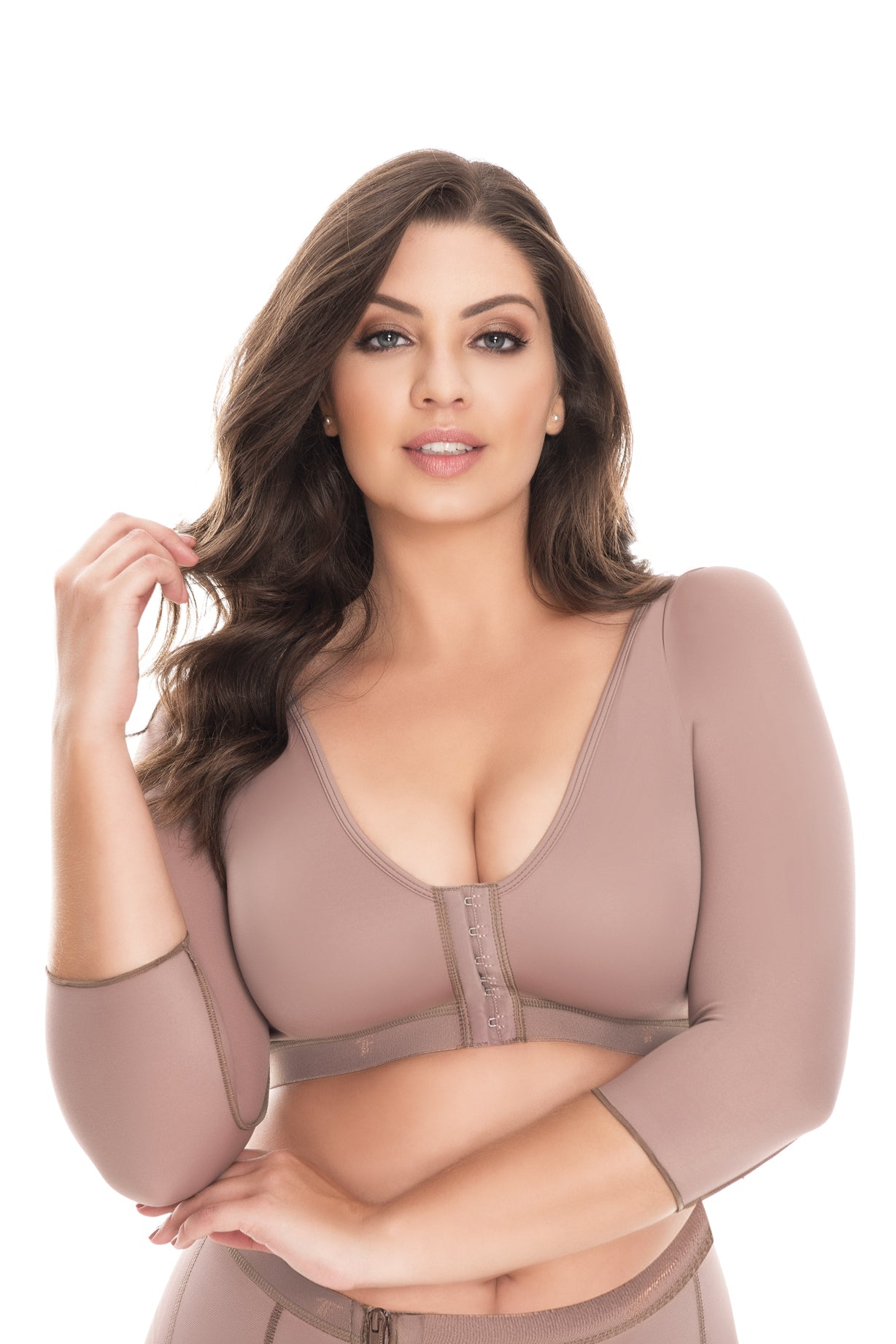 fd26826c1e879 Fajas Colombianas Dprada 11055 Post Surgical Bra   Compression Sleeves -  Fajas Colombianas Shapewear