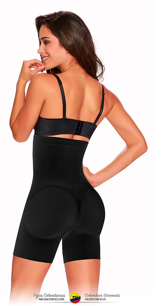 FAJAS COLOMBIANAS TRUESHAPERS SLIMMING BRALESS BODY SHAPER SHORT STYLE-1231 - Fajas Colombianas Shapewear