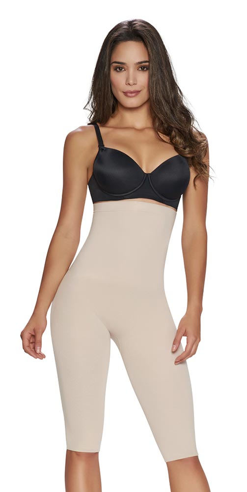 c27bc44e74a65 TrueShapers 1233 Thigh Slimmer Compression Shapewear For Women - Fajas  Colombianas Shapewear