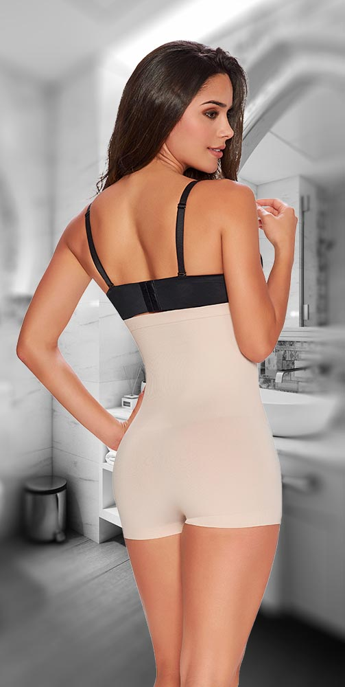 TrueShapers 1235 High Waist Faja Shapewear - Fajas Colombianas Shapewear