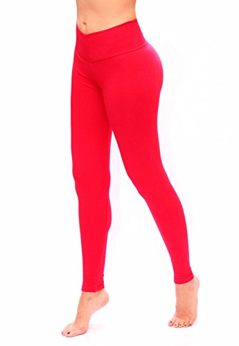 Leggings for Woman Bon Bon Up with slim and tone control Red REF. 1015 - Fajas Colombianas Shapewear