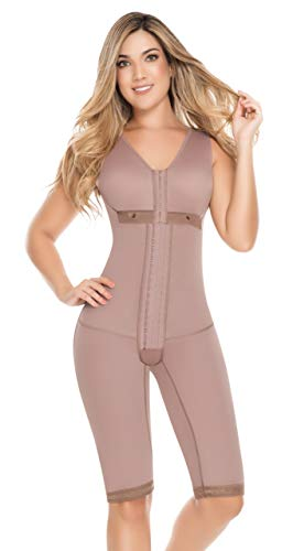 Fajas Colombianas D Prada Full Body Shaper X-Large Cocoa-Optic Post Partum & Post Surgery - Fajas Colombianas Shapewear