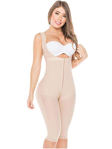 Fajas Colombianas Salome  Fajas Reductoras Y Moldeadoras Colombianas Liposuction Compression Garments Beige REF. 0520 - Fajas Colombianas Shapewear