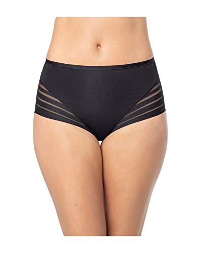 Leonisa Women's Invisible Tummy Control Classic Comfy Panty Black - Fajas Colombianas Shapewear