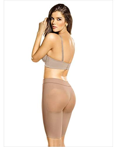 Fajas Colombianas Leonisa Butt Lifter Shaper Short Women's Petite Plus Well-Rounded Invisible, Beige, Small - Fajas Colombianas Shapewear