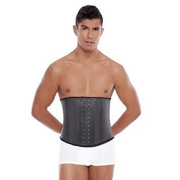 Mens Shapewear Latex Waist Trainer Workout Sport Shapewear Tummy Control Abs Thermal Compression - REF 098 - Fajas Colombianas Shapewear