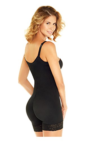 DIANE & GEORDI Fajas Colombianas Full Body Shaper Colombian Girdle |  Black REF. 002409 - Fajas Colombianas Shapewear