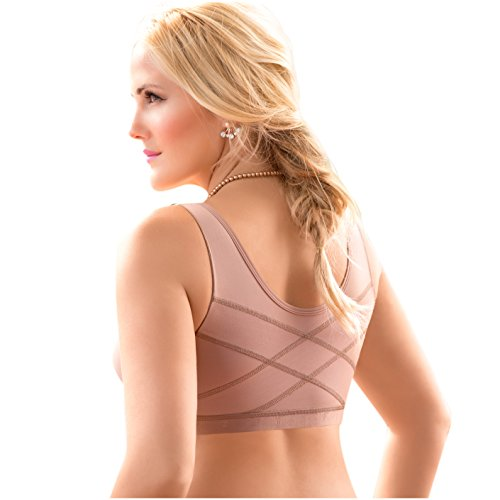 Fajas Reductoras Colombianas con Brasier Full Body Shaper with Bra Post Surgery