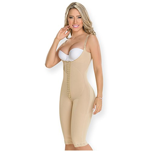 Fajas Colombianas M&D Post Surgery Compression Garment | Postparto Beige REF. 0478 - Fajas Colombianas Shapewear
