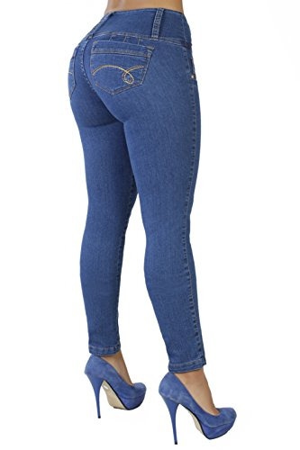 Image result for Curvify High Waisted Butt Lifting Slimming Jeans for Women - Skinny Stretch Jean 766