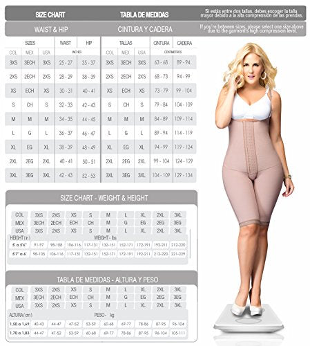 Fajas Colombianas Reductoras y Moldeadoras Postparto DPrada  Postpartum Girdles After Pregnancy Liposuction Shaper  Cocoa Optic REF. 046 - Fajas Colombianas Shapewear